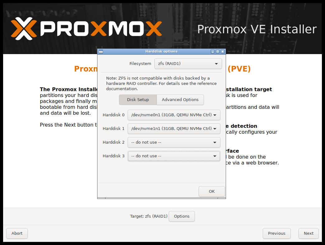 Proxmox ext4 vs xfs