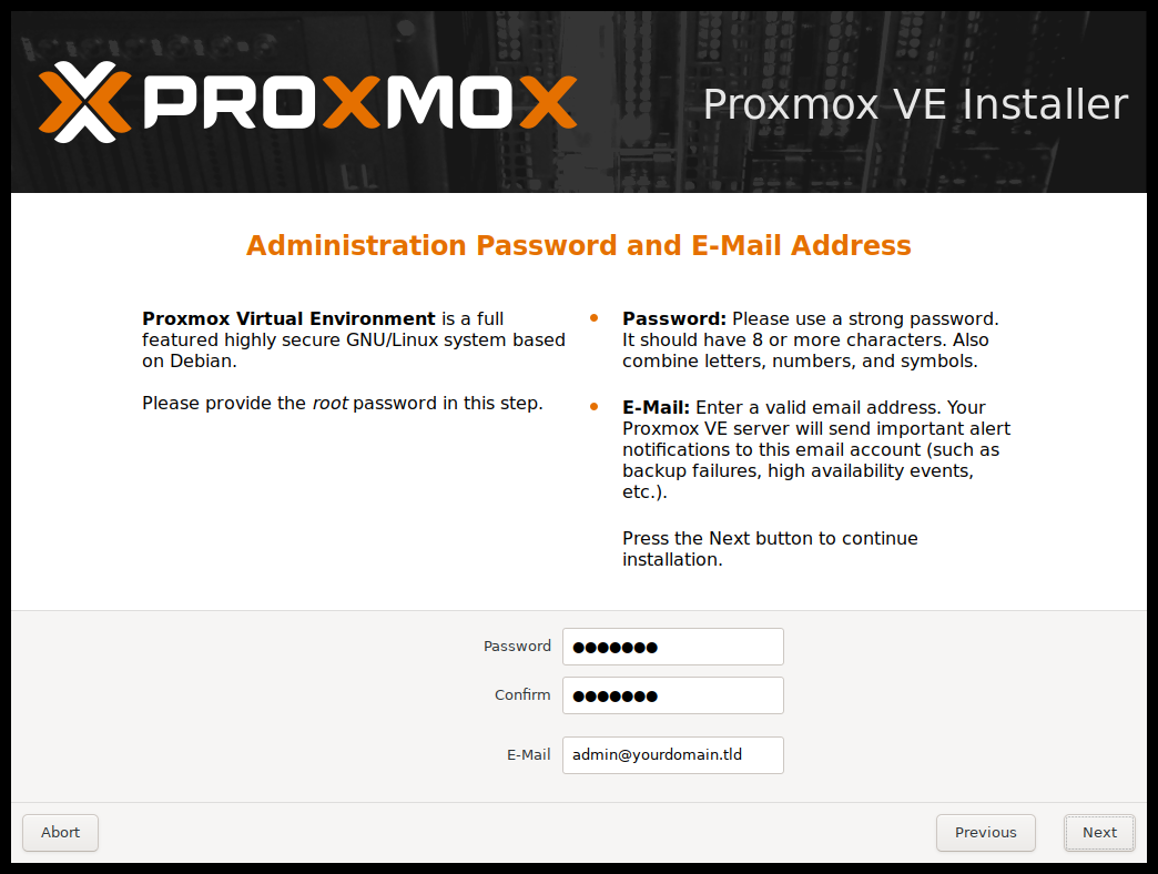 Proxmox VE Administration Guide